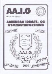 """AAIG – atletik, tri & motion """"organisation"""" - Ove Schneider´s løbeside"""