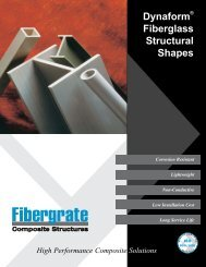 Dynaform® Fiberglass Structural Shapes