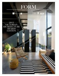 FORM Magazine - Australian Institute of Architects