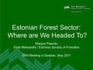 Estonia - Eesti Metsaselts