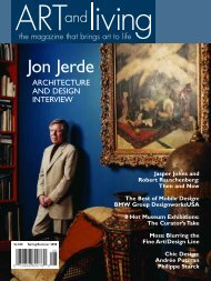 Jon Jerde - Art and Living