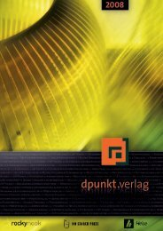 Katalog - dpunkt - Verlag