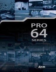 Pro-64 Brochure (.pdf) - Northern Sound & Light