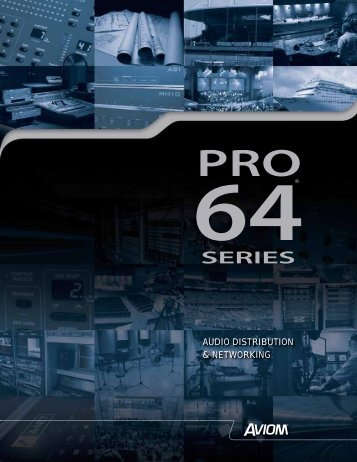 Pro-64 Brochure (.pdf) - Northern Sound & Light