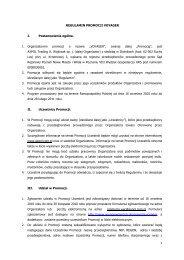 REGULAMIN PROMOCJI LEITZ - AXPOL Trading