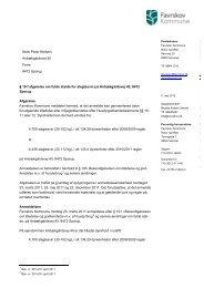 19 f afgørelse vedr. Anbækgårdsvej 40, 8472 Sporup - Favrskov ...