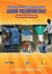 Agro-Tech Book - Agriculture Support Programme