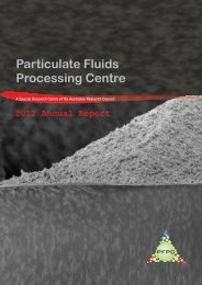 2012 PFPC Annual Report 8.2mb pdf - Particulate Fluids Processing ...
