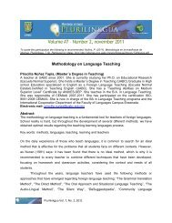 Volume #7 – Number 2, november 2011 - Facultad de Idiomas ...