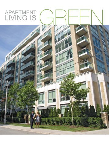 Apartment Living is Green - FRPO