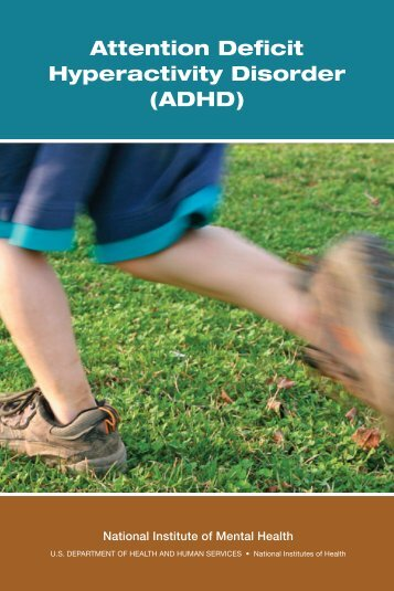 Attention deficit hyperactivity disorder. - NIMH - National Institutes of ...