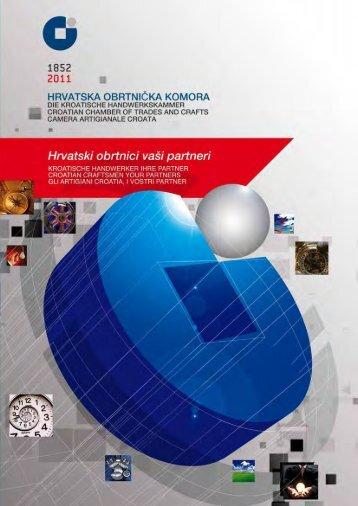 Katalog obrtništva 2011. - Hrvatska obrtnička komora