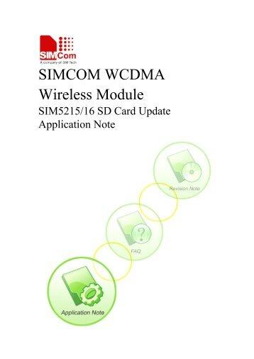 SIMCOM WCDMA Wireless Module