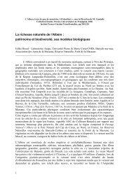 La richesse naturelle de l'Albère : patrimoine et biodiversité, ses ...