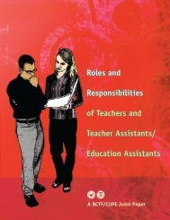 Roles and Responsibilities of Teachers and Teacher Assistants ...