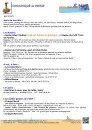 Mise à jour du 21/11/06 - Avignon et Provence