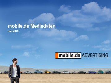 Basispräsentation mobile.de - mobile.de Advertising