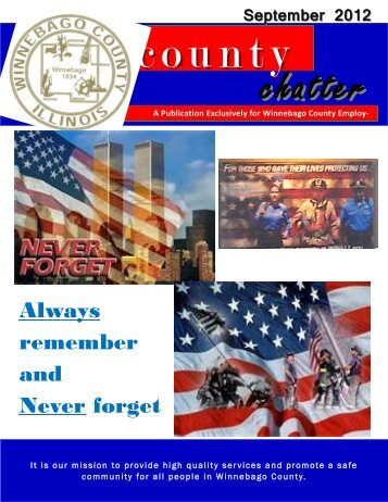 Always remember and Never forget - Winnebago County, Illinois