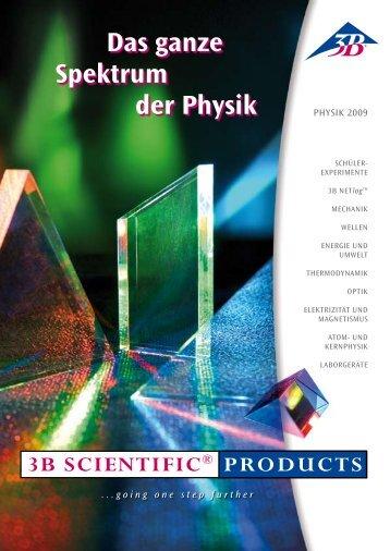 Das ganze Spektrum der Physik