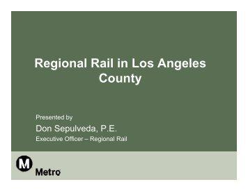 Don Sepulveda - Train Riders Association of California