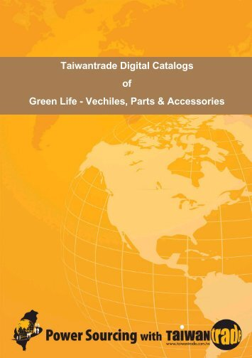 Taiwantrade Digital Catalogs of Green Life - Vechiles, Parts ...