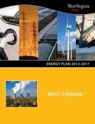 ENERGY PLAN 2013-2017 - West Virginia Department of Commerce