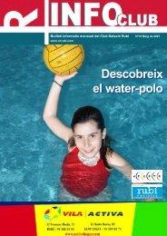 Descobreix el water-polo Descobreix el water-polo - CN Rubí