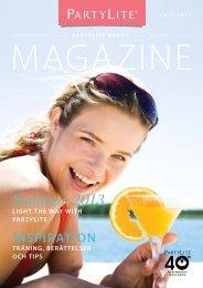 PartyLite nordic magazine