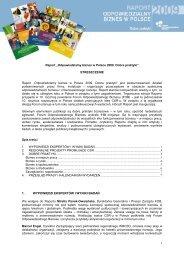 Streszczenie - Forum Odpowiedzialnego Biznesu