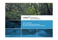 Arrow LNG Plant Environmental Impact Statement ... - Arrow Energy