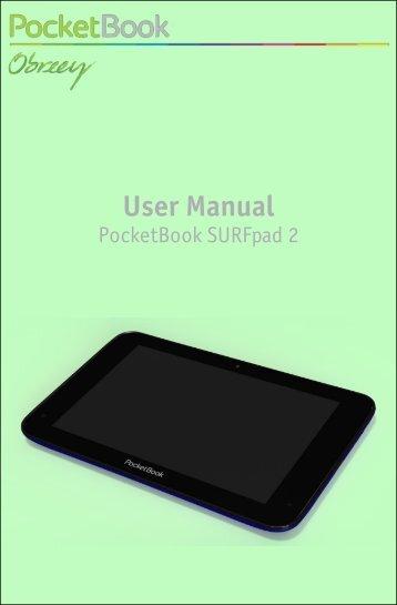 User Manual PocketBook SURFpad 2