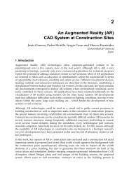 An Augmented Reality (AR) CAD System at Construction Sites