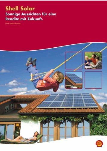 Shell Solar - SONNIG