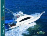 Brochure of 56 Super Sport - Ocean Yachts Inc.