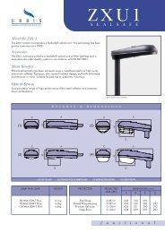 10459_ZXU1 Data sheet - Urbis Lighting Limited