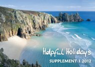 SUPPLEMENT 1 2012 - Helpful Holidays