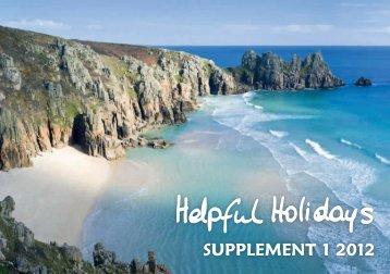 SUPPLEMENT 1 2012 - Helpful Holidays