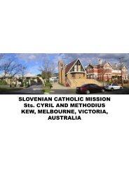 SLOVENIAN CATHOLIC MISSION Sts. CYRIL AND ... - Glas Slovenije