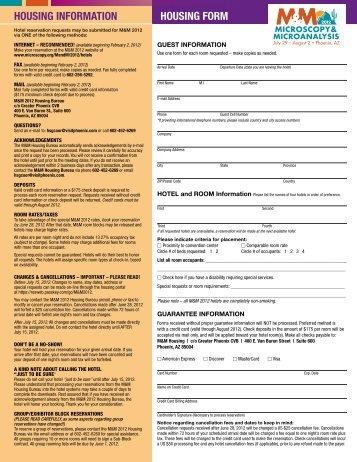Download hotel reservation form