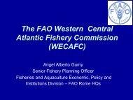 WECAFC - Association of Caribbean States
