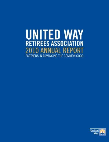 UWRA Annual Report - United Way Retirees Association