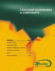 Catalogue accessoire - Manaras