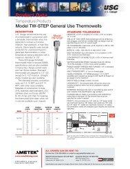 Model TW-STEP General Use Thermowells - PEC-KC.com