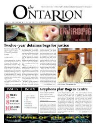 Twelve-year detainee begs for justice - The Ontarion