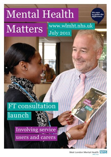 MHM July 2011 - West London Mental Health NHS Trust
