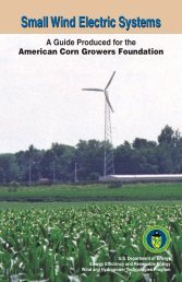 Small Wind Electric Systems: A Guide for the American Corn ... - NREL