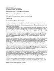 Joint Statement of Robinson and Damato 2004.pdf - U.S.-China ...