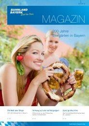 200 Jahre Biergärten in Bayern - Bahnland Bayern