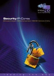 Security IP-Cores - intoPIX