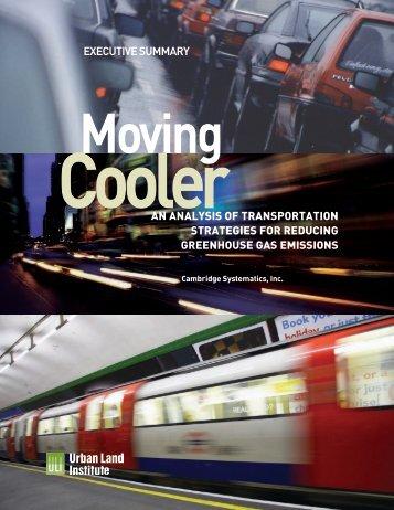 Moving Cooler - Federal Transit Administration - U.S. Department of ...